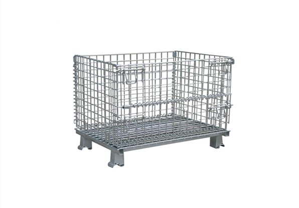 Wholesale Foldable Steel Storage Wire Mesh Container