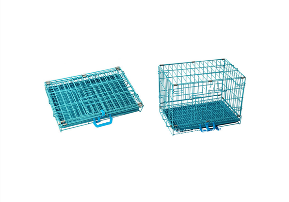Cheap Customized Stainless Steel Folding Dog Cage