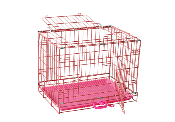 Portable Folding Metal Wire Dog Cage