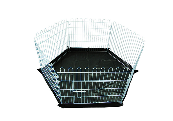 Iron Metal Exercise Play Pen
