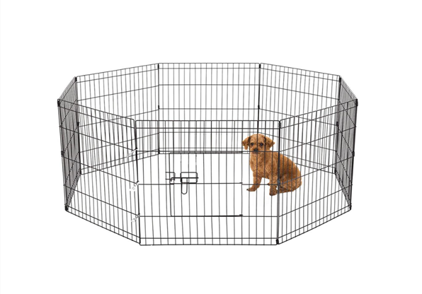 Pet Portable Foldable Playpen Exercise Kennel Dogs Cats
