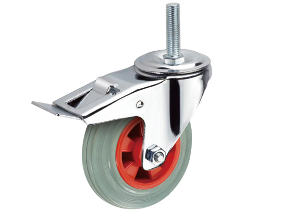 2019 Hot Sell Industrial High Quality Bolt Hole Caster