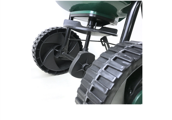 15l Garden Yard Plastic Hand Held Towable Wheeled Fertilizer Drop Spreader Agriculture