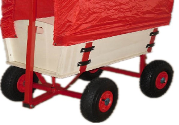Children Wagon with Cover