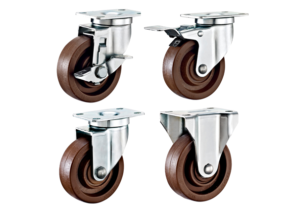 Heavy Duty High Temperature Resistant Phenolic Swivel Caster