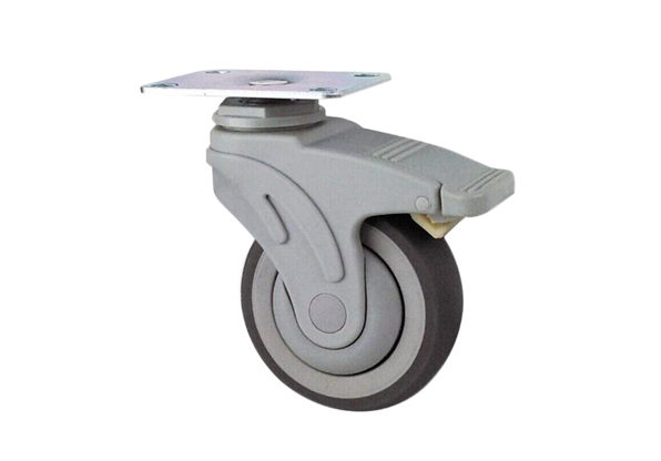 5 Inch Swivel Locking TPR Medical Caster Wheels
