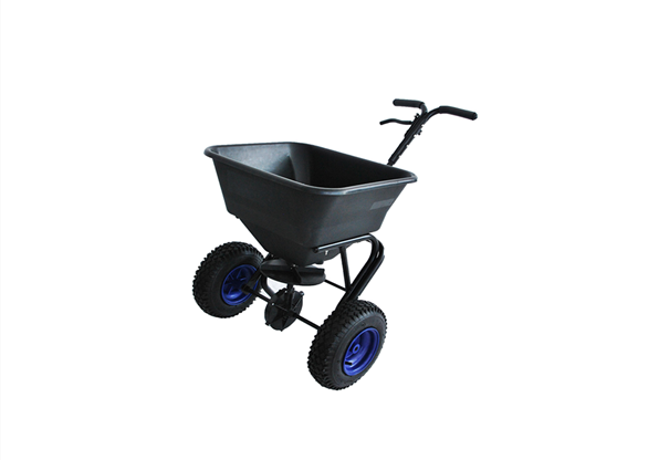 Garden Hand Operated Solid Plastic Fertilizer Spreader