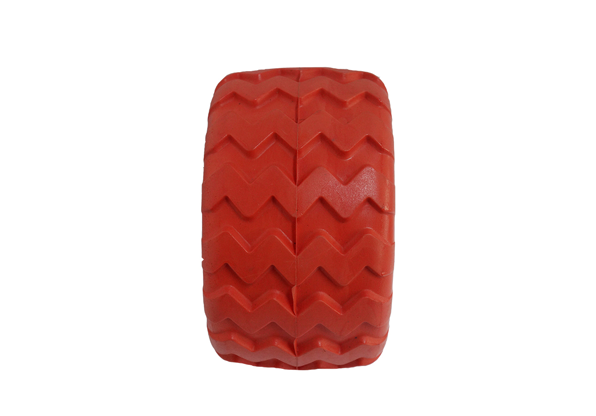 Wholesale Offroad and Street Pattern Wide PU Heavy Duty Wheel