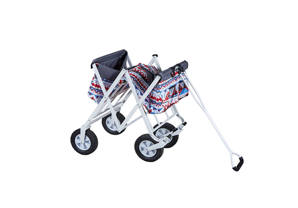 Hot Selling High Quality Wagon Steel Frame Utility Cart Beach Wagon