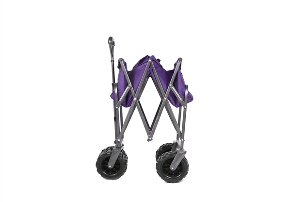 Durable Convenient Foldable Wagon Cart For Storage Transport