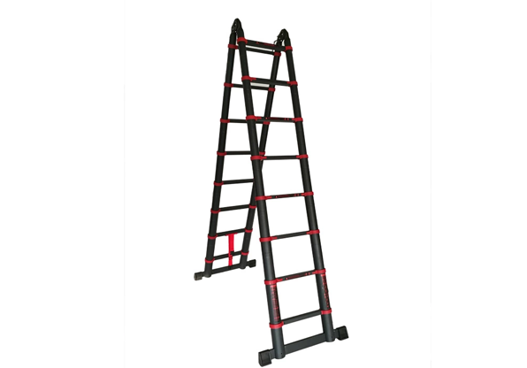 12.5FT Double Sided Aluminium Telescopic Ladder