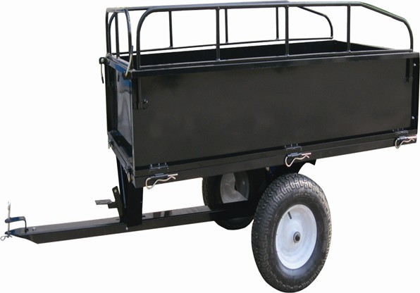 17CU.FT.Dump Cart with Foot Pedal